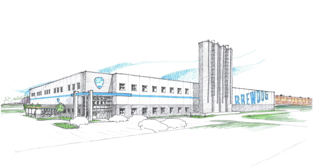 BrewDog has provisionally agreed a deal to build a new 100,000ft state-of-the-art brewery in Columbus, Ohio