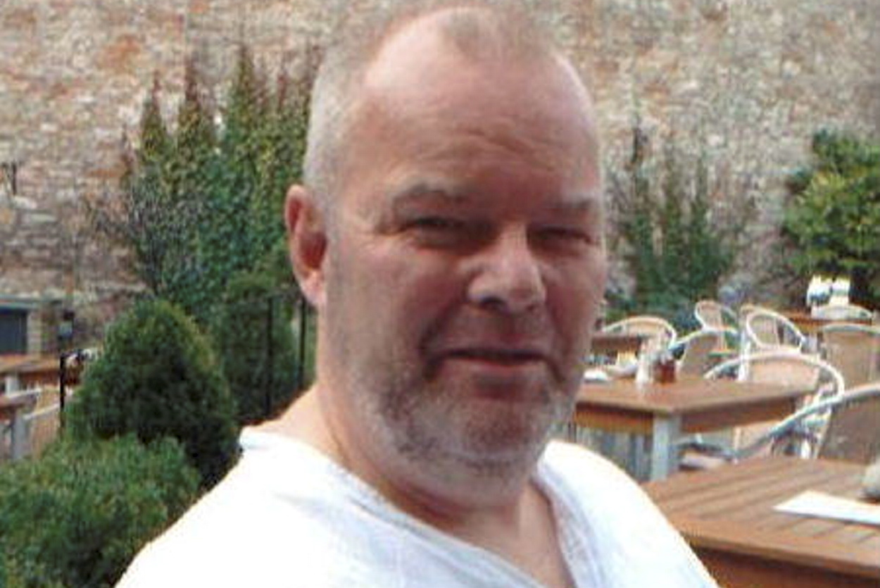 Colin Laing was last seen in the Kittybrewster area of Aberdeen.