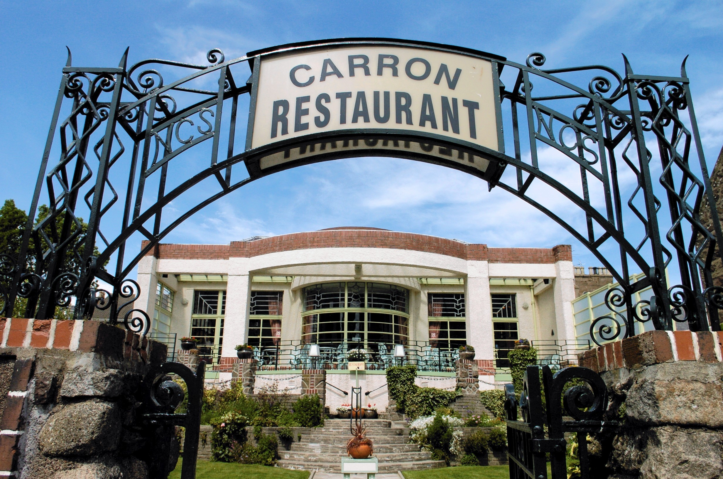 The well-known art deco Carron Restaurant closed last year.