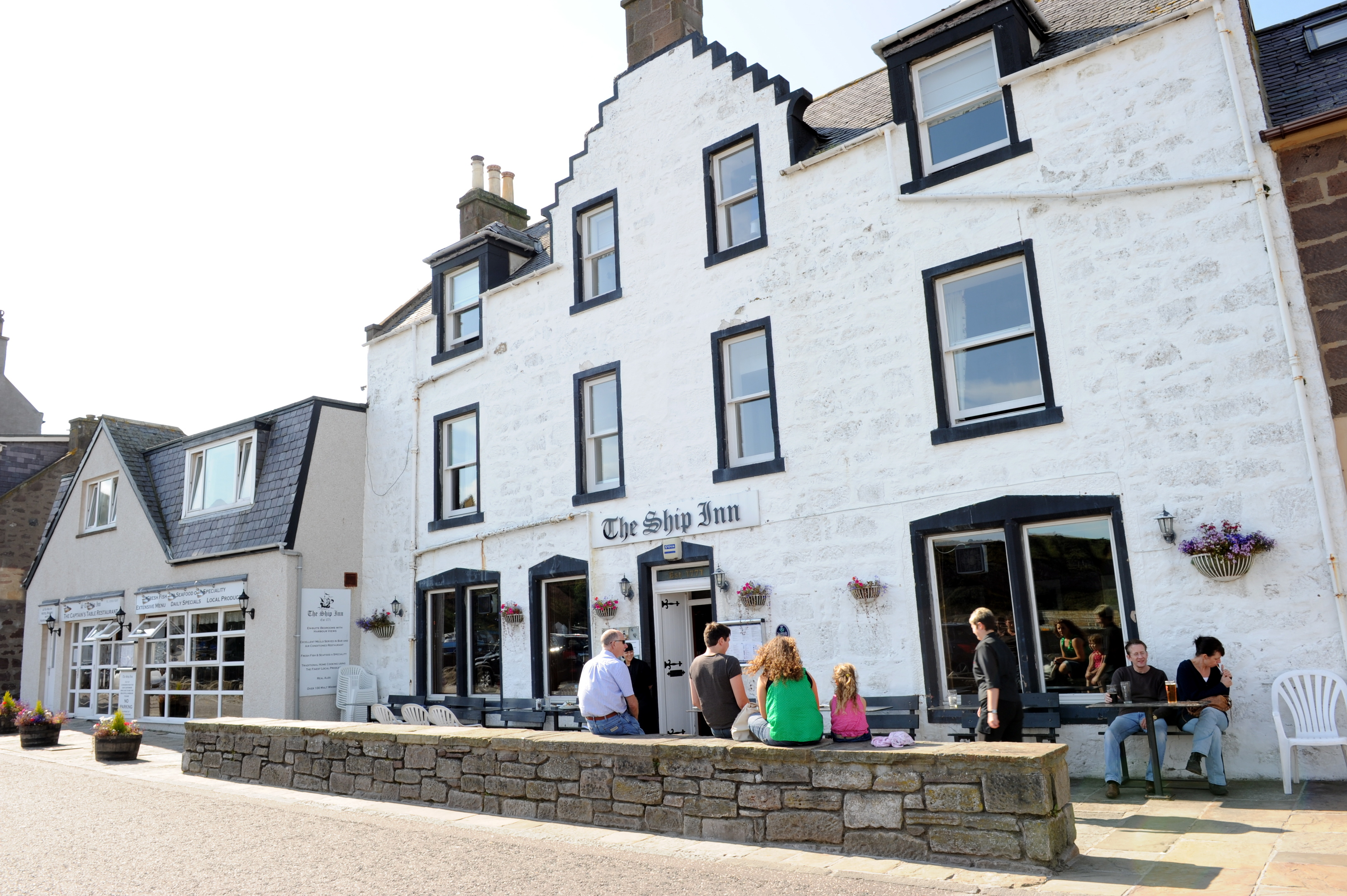 The Ship Inn at Stonehaven.