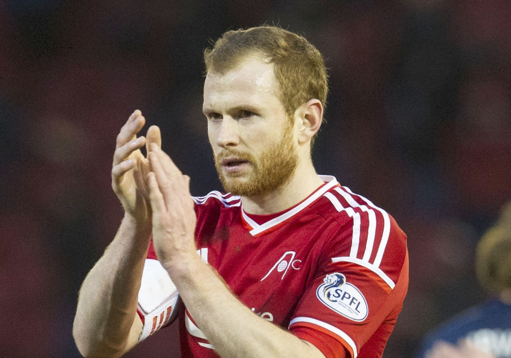 Aberdeen's Mark Reynolds is involved in the Scotland set-up.
