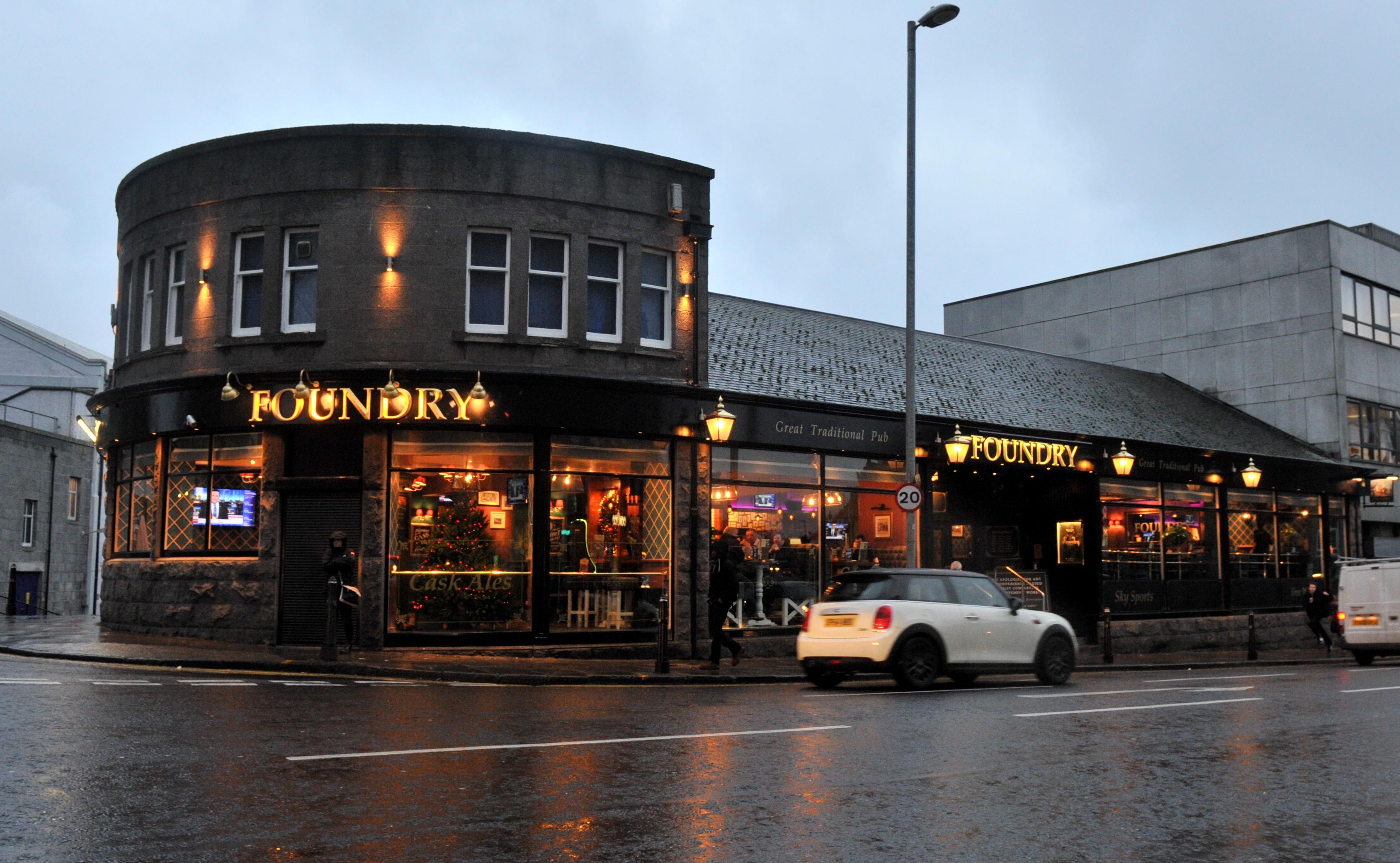 The Foundry on Holburn Street.