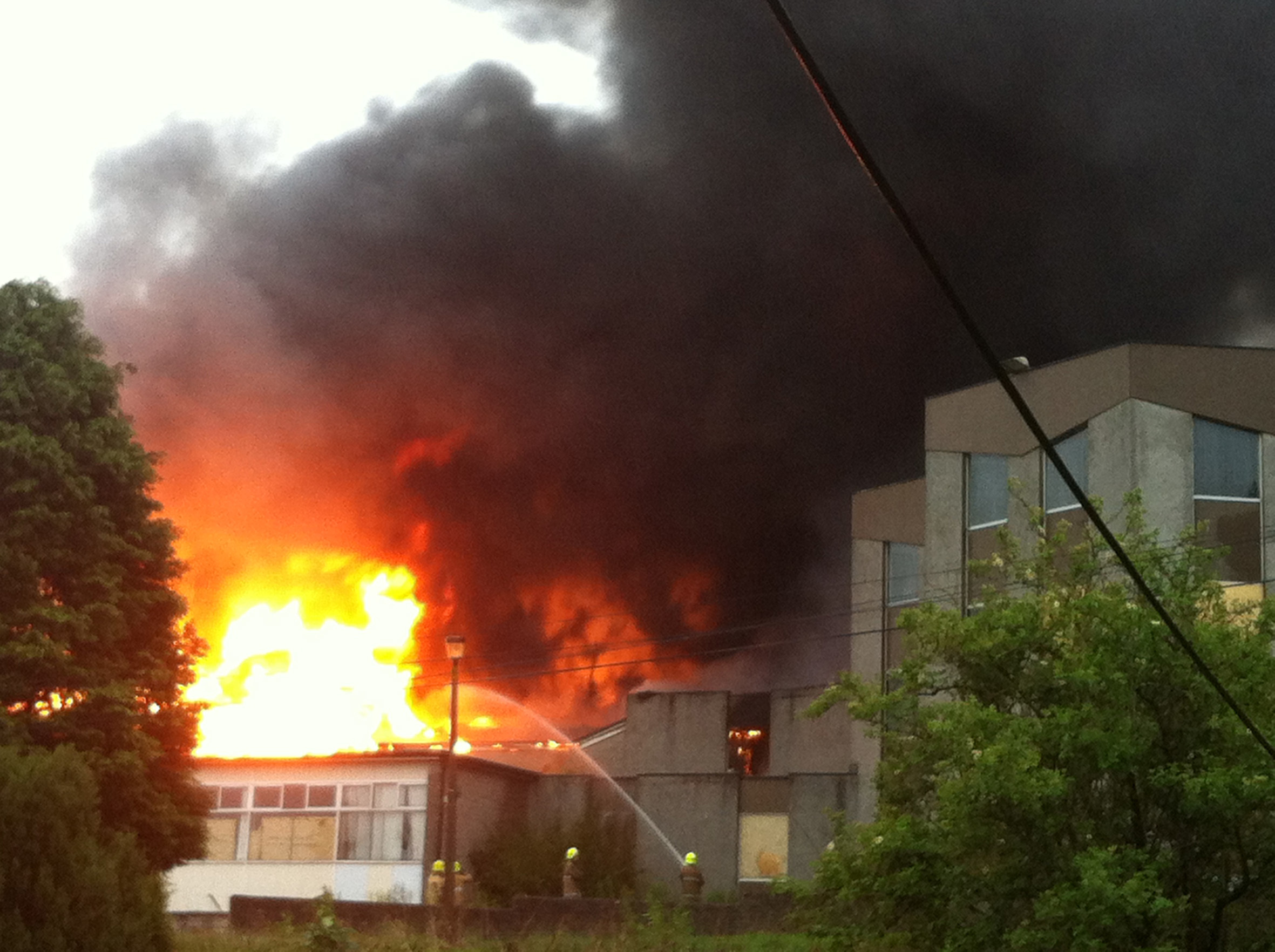 The former Bankhead Academy was devastated by a blaze in 2012.