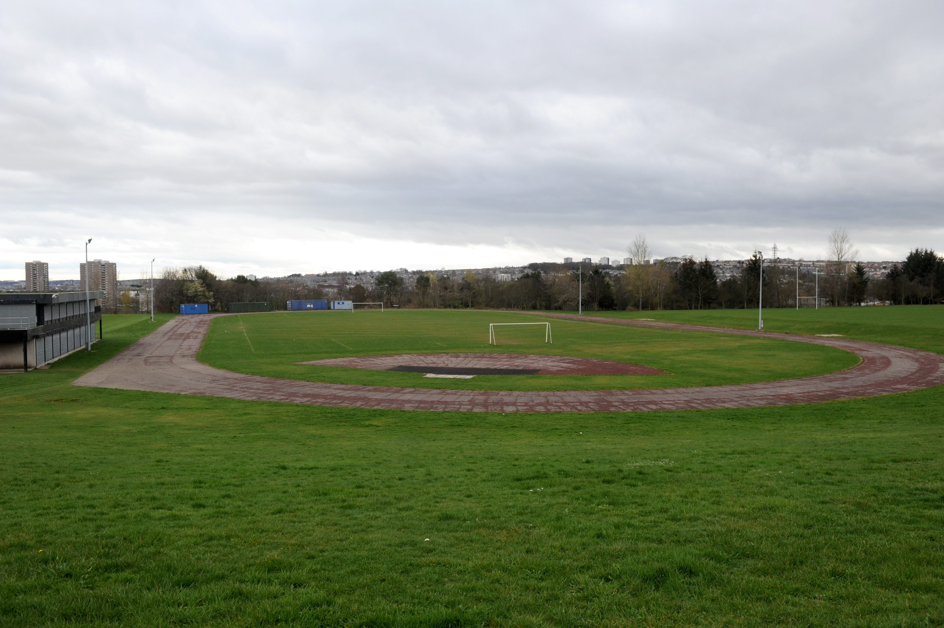 Balgownie football pitches and sports fields in Aberdeen