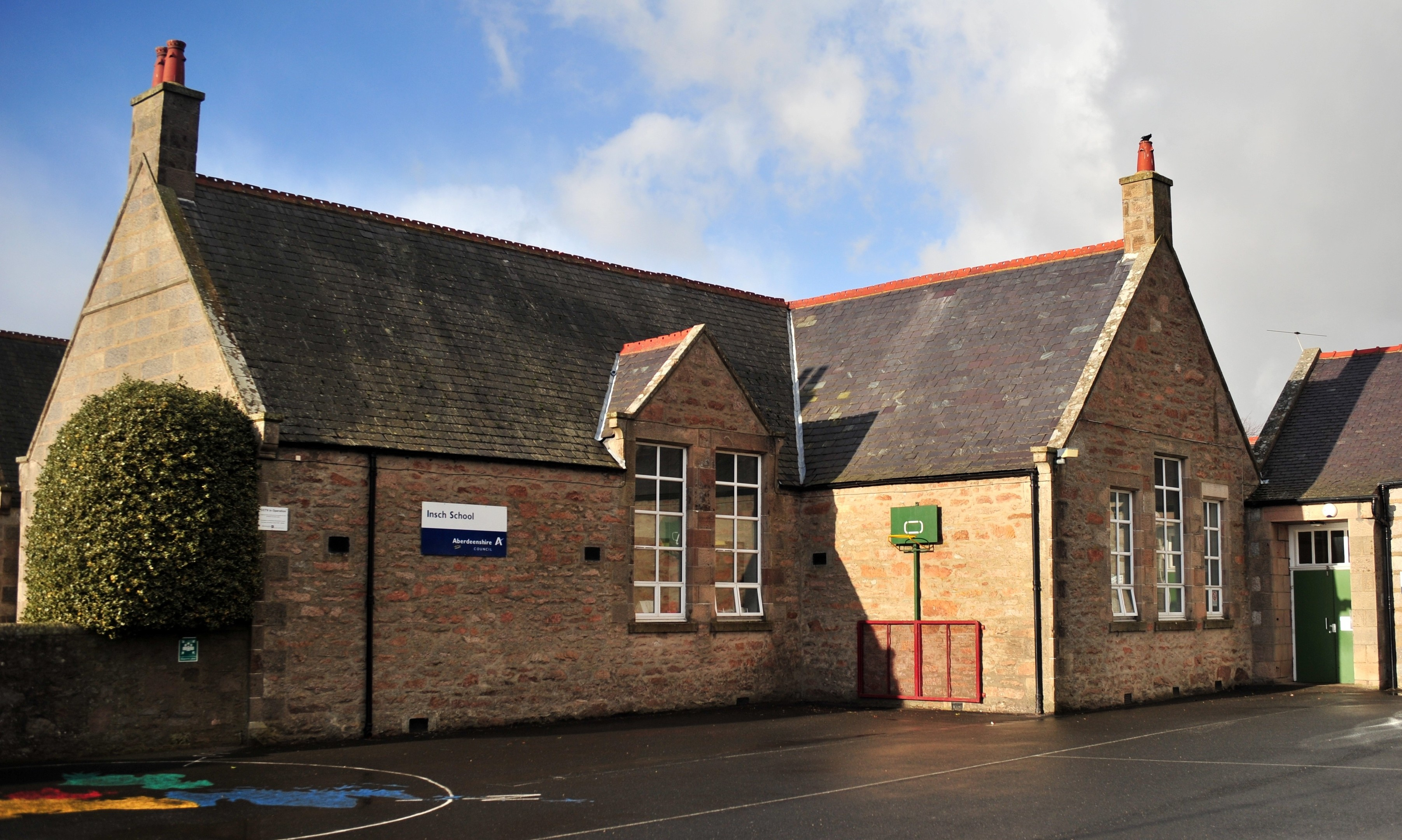 Insch Primary School is set to receive an extension as part of the plans.