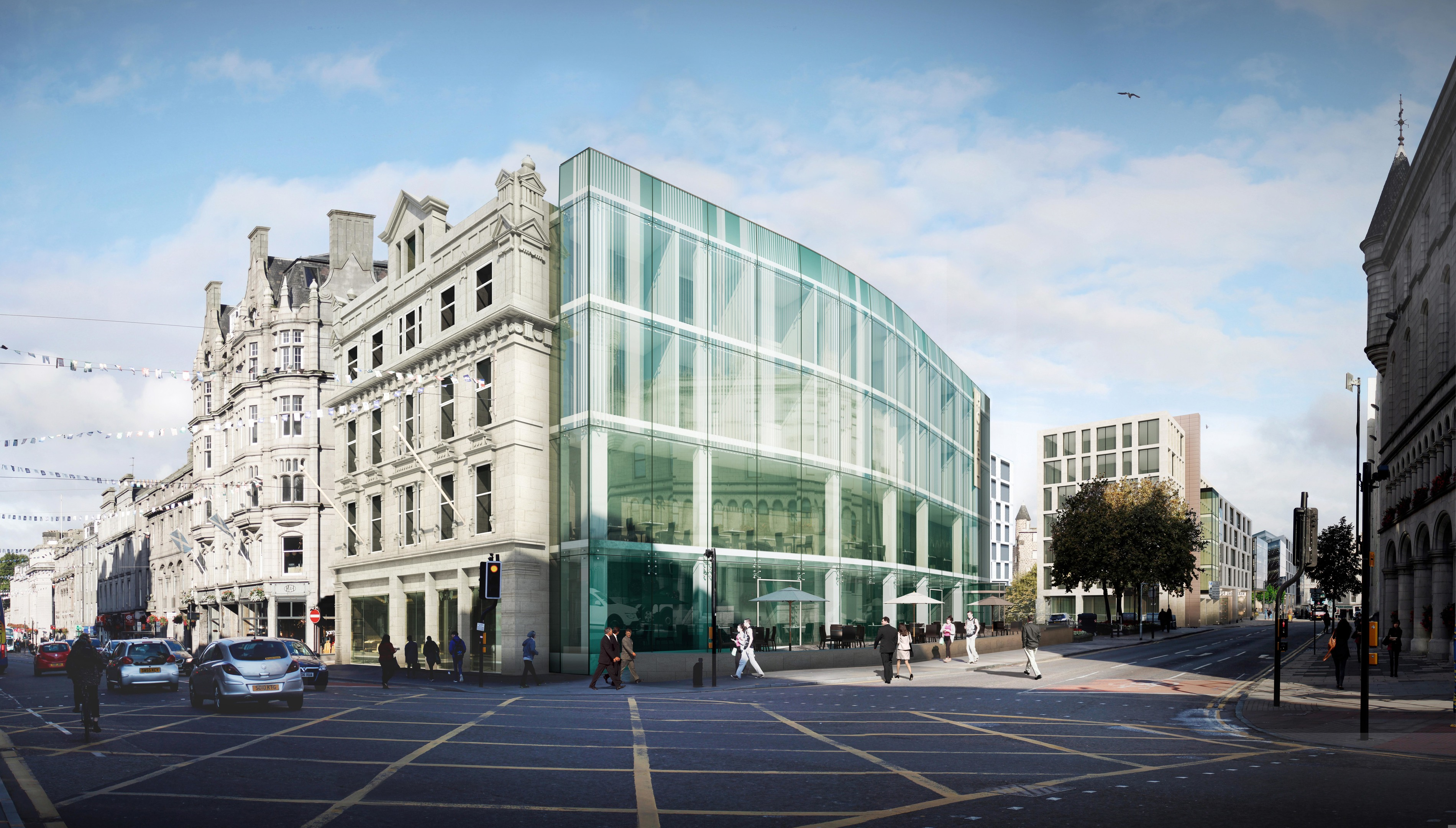 An artist's impression of how the building could have looked.
