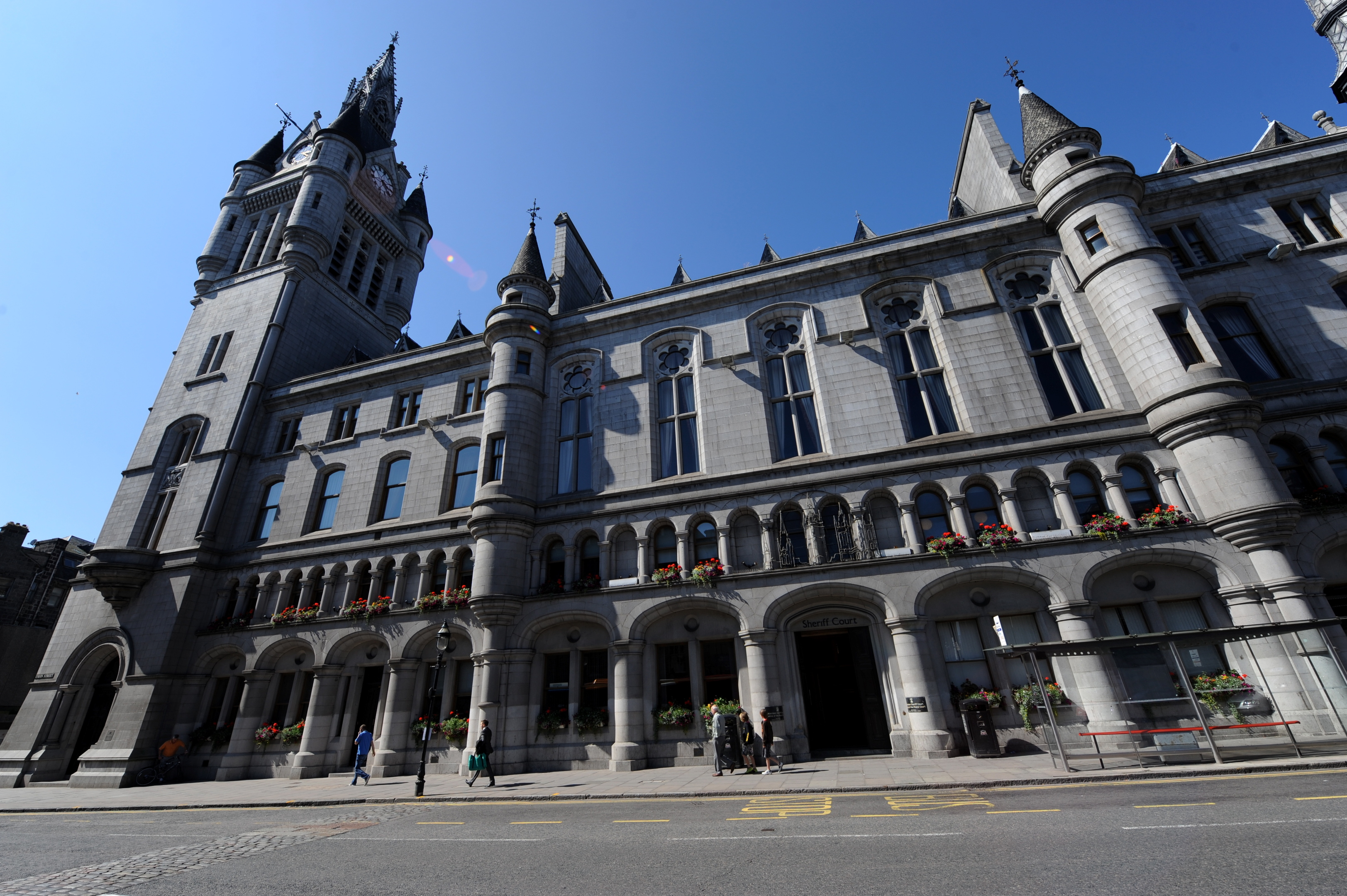 LAW:  18-year-old Banks admitted the charge of dangerous driving at Aberdeen Sheriff Court.