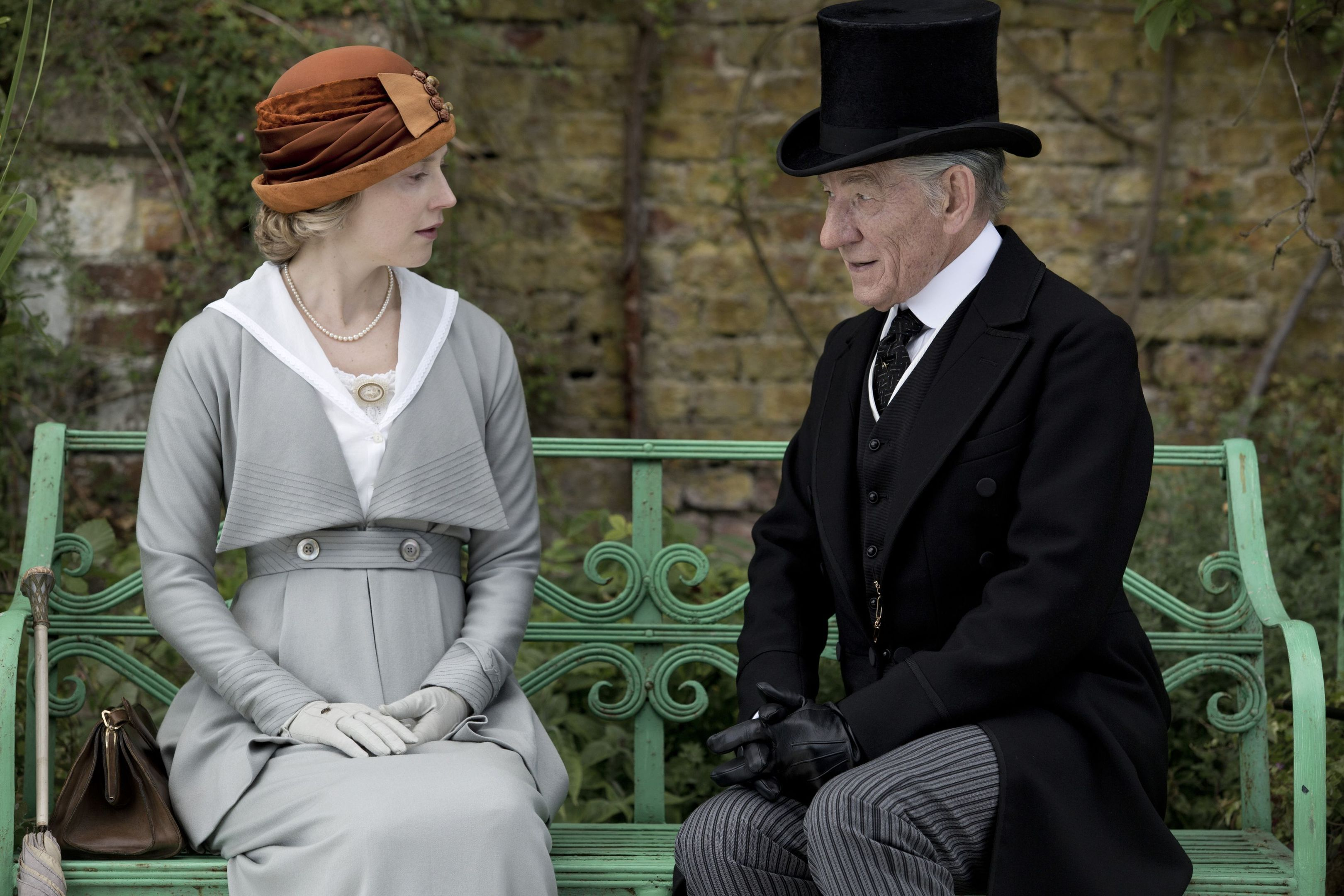 acting:  Hattie Morahan and Sir Ian McKellan.