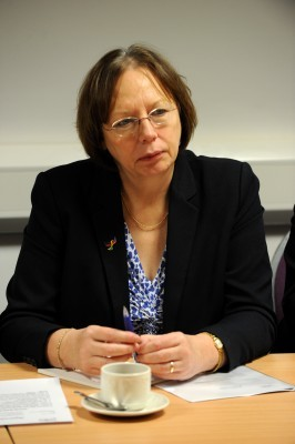 TURNED DOWN:  Alison McInnes appealed for  young offenders to be given the right to vote in the next Holyrood election.