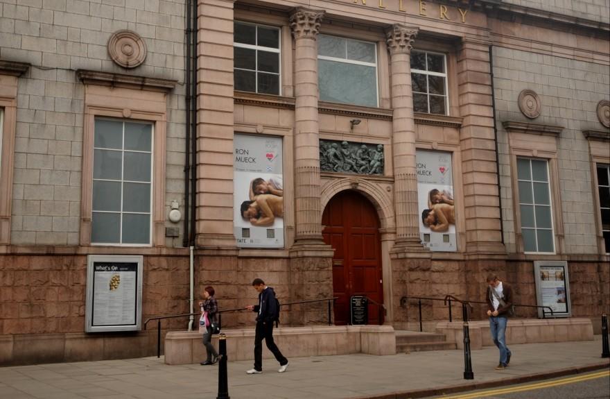 Work has already begun on Aberdeen Art Gallery.