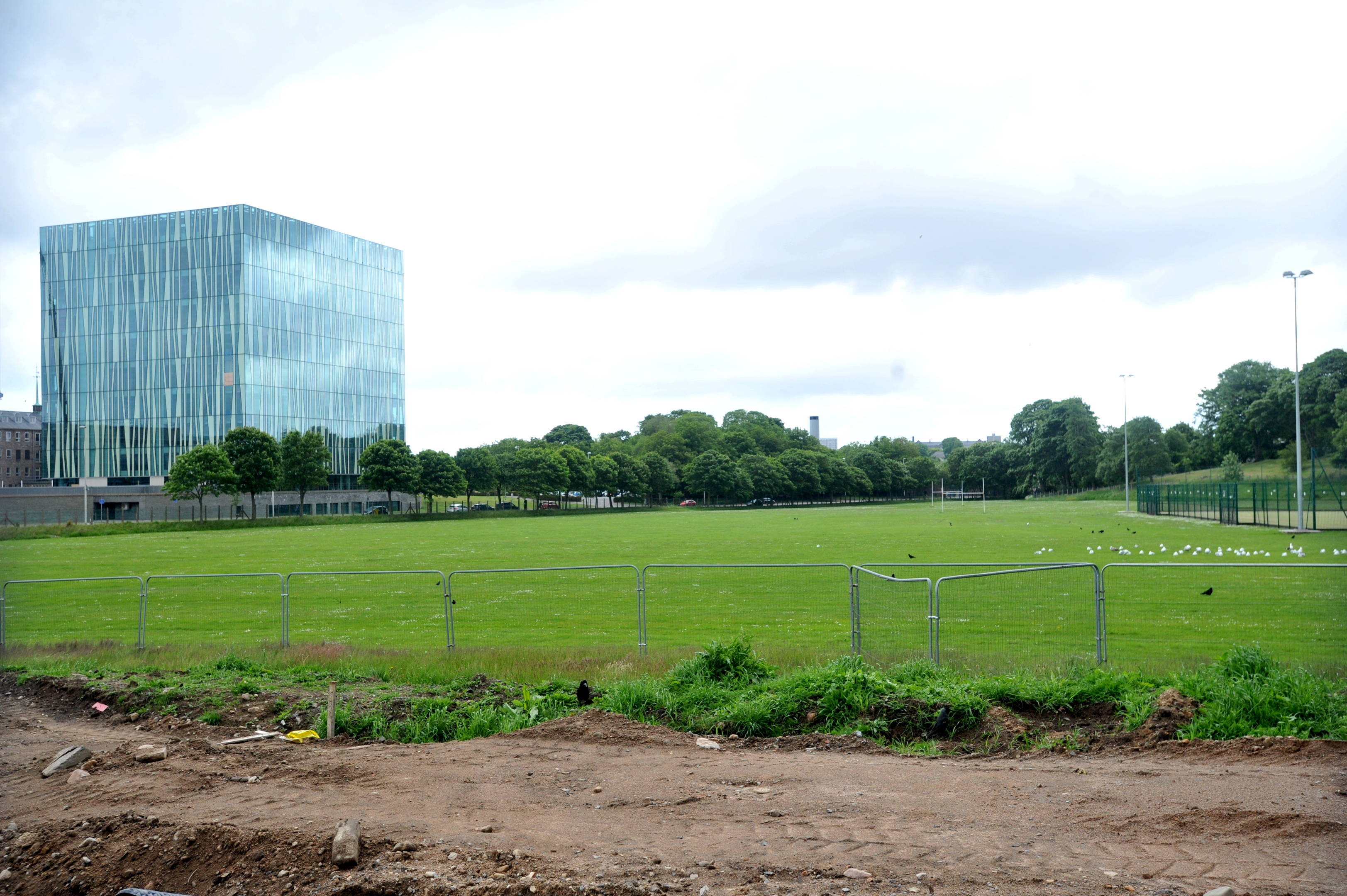 facilities issue:  St Machar Academy playing fields in St Machar Drive, Aberdeen.