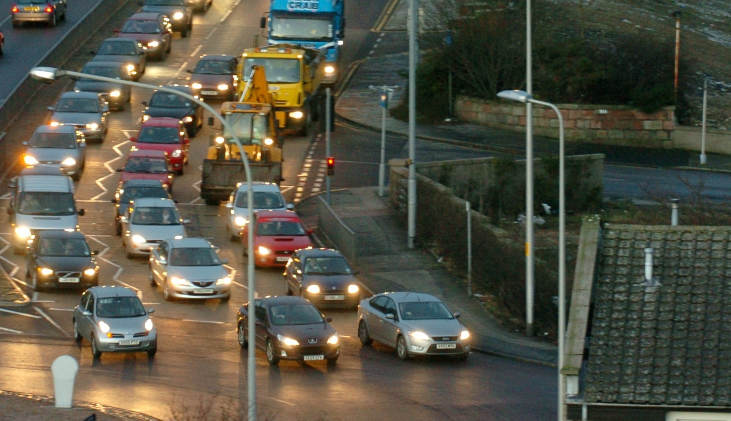 The scheme aims to improve traffic flow at the Haudagain.