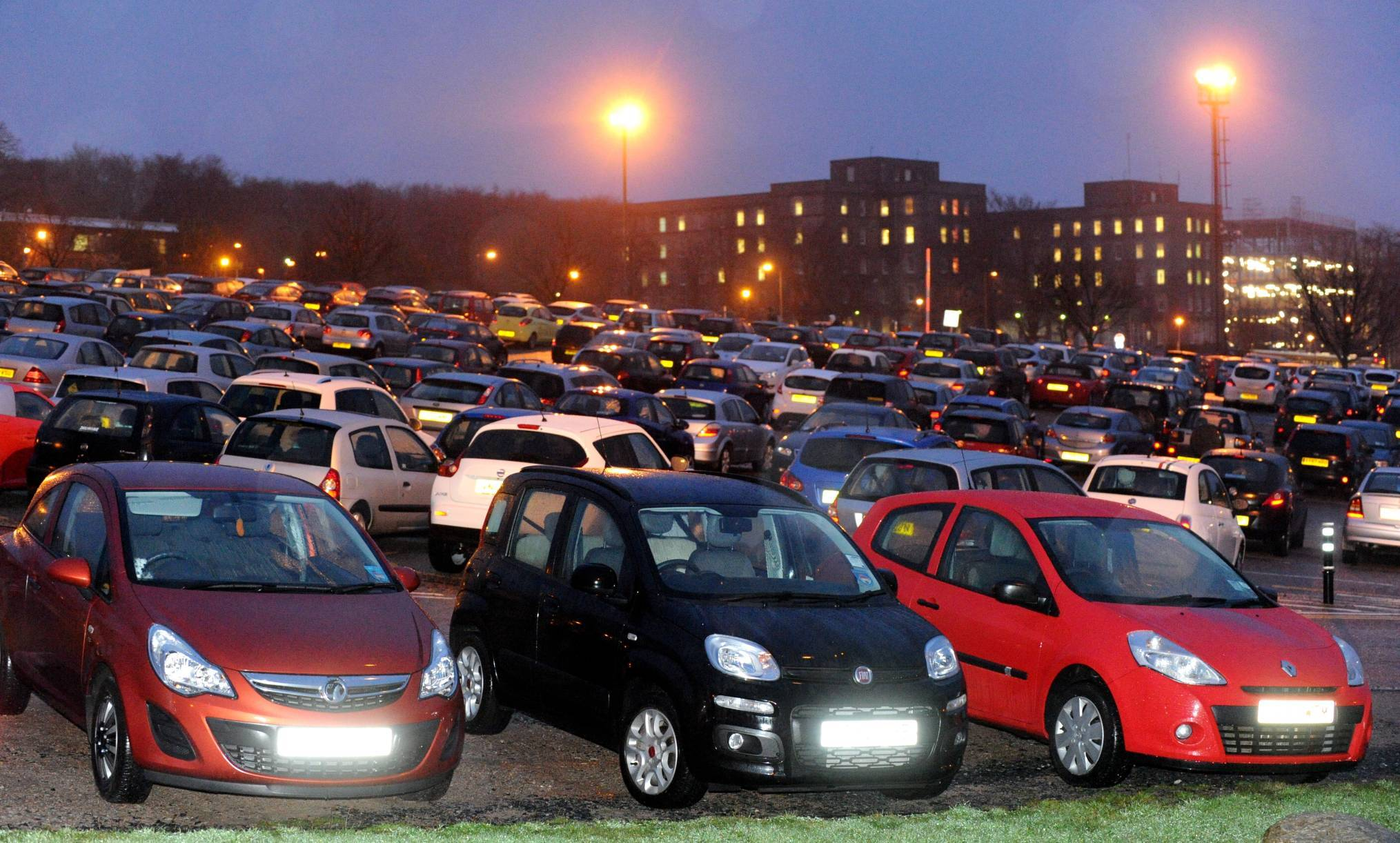 Aberdeen Royal Infirmary car park