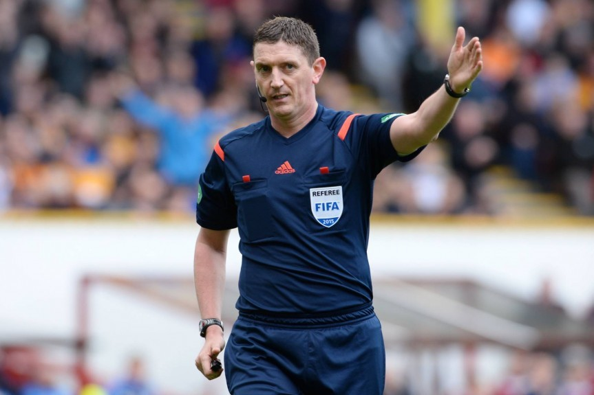 Craig Thomson will be in Lithuania on Sunday.