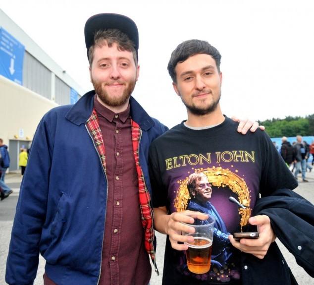 Jonny and Chris Mann.