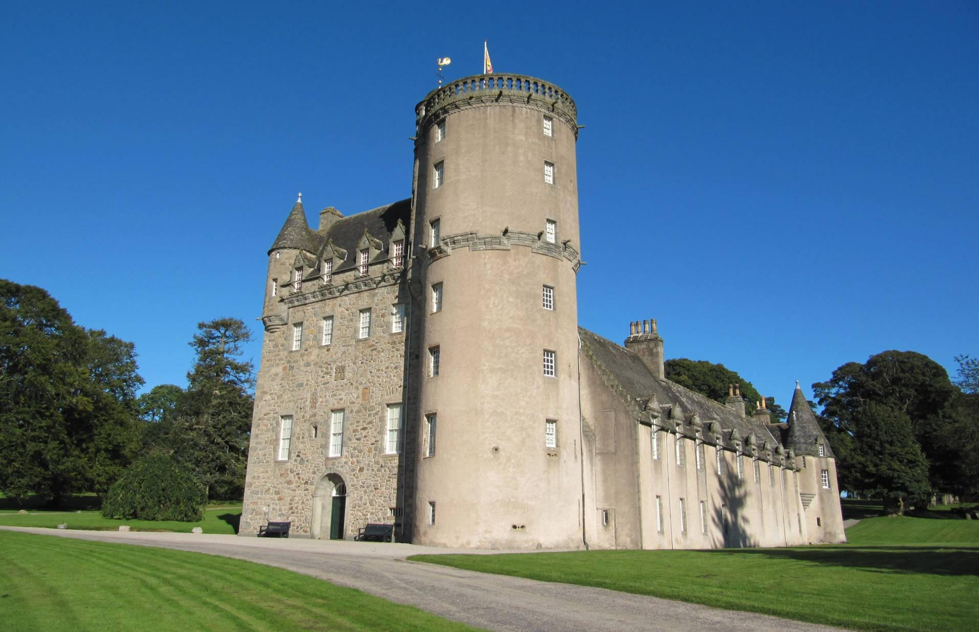 Castle Fraser. Picture by National Trust for Scotland