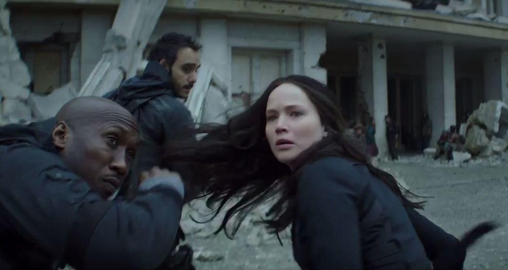 Jennifer Lawrence returns as Katniss Everdeen.