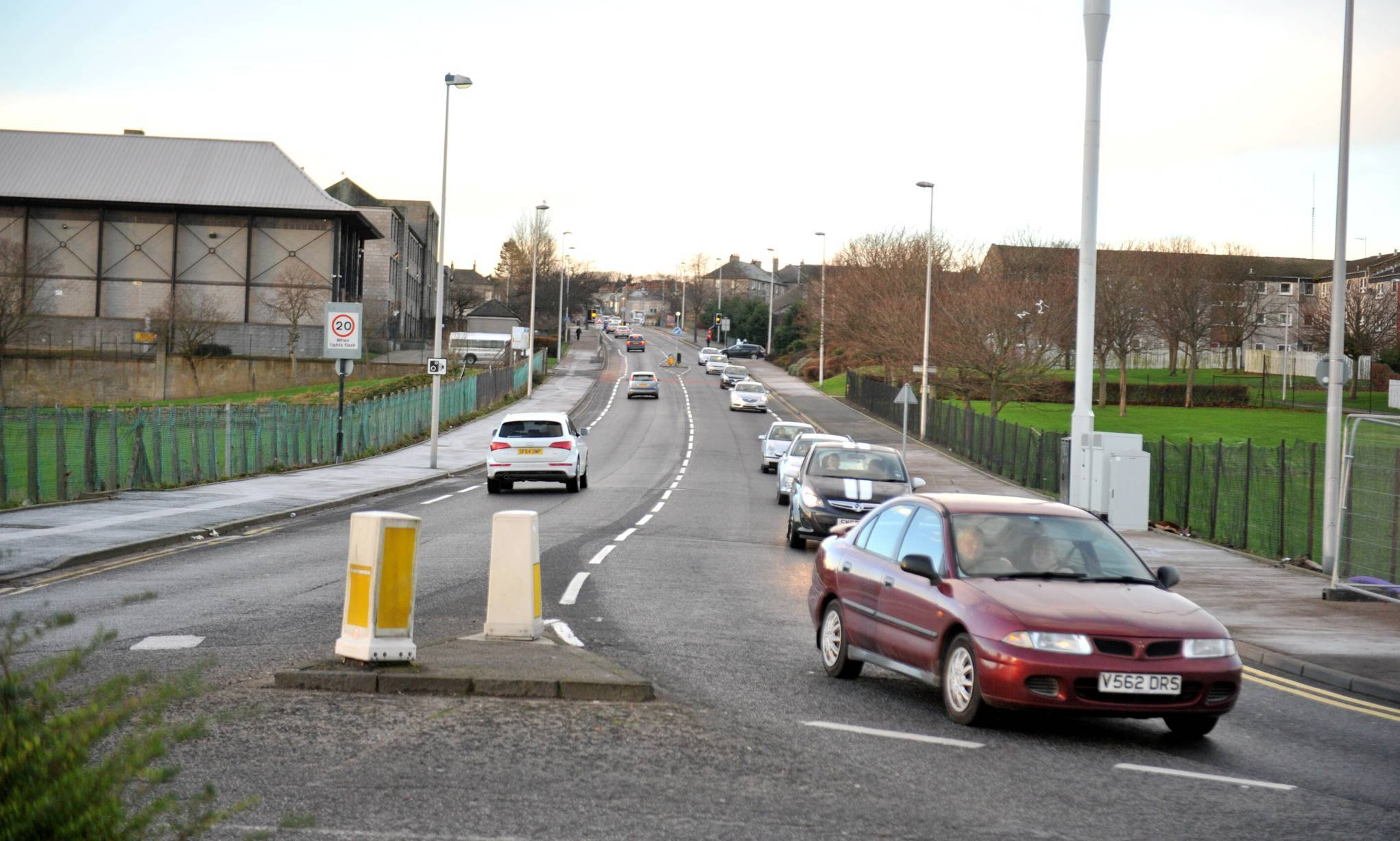 Police focused on the St Machar Drive, Bedford Road and Don Street areas of Aberdeen