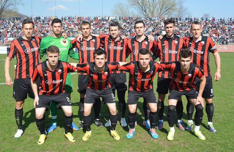 FK Shkendija team. Picture from FK Shkendija.