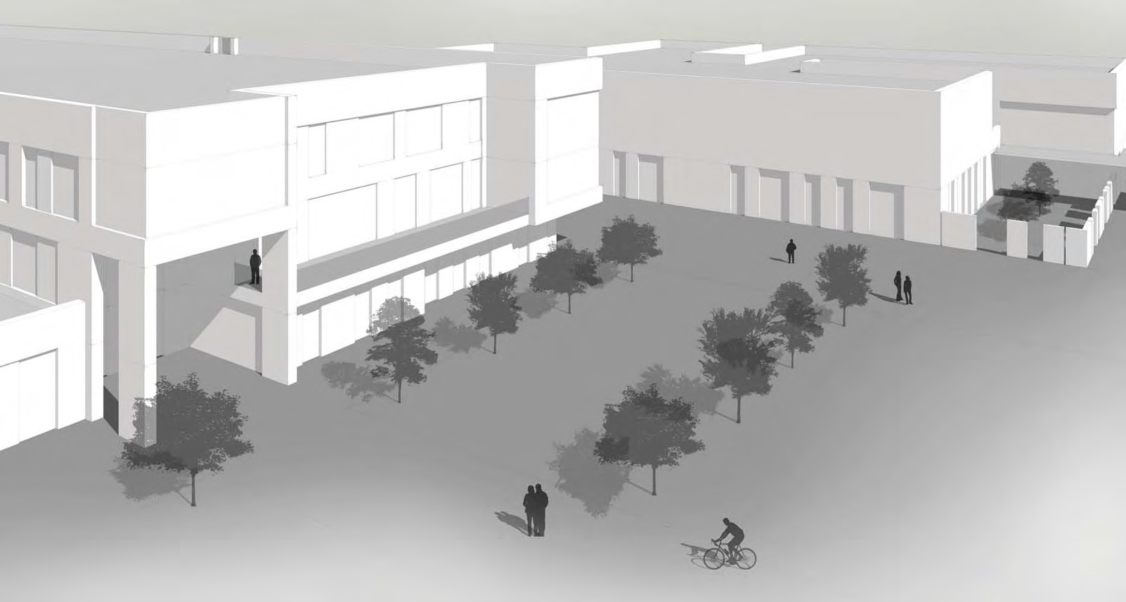 An artist's impression of the new school south of Aberdeen