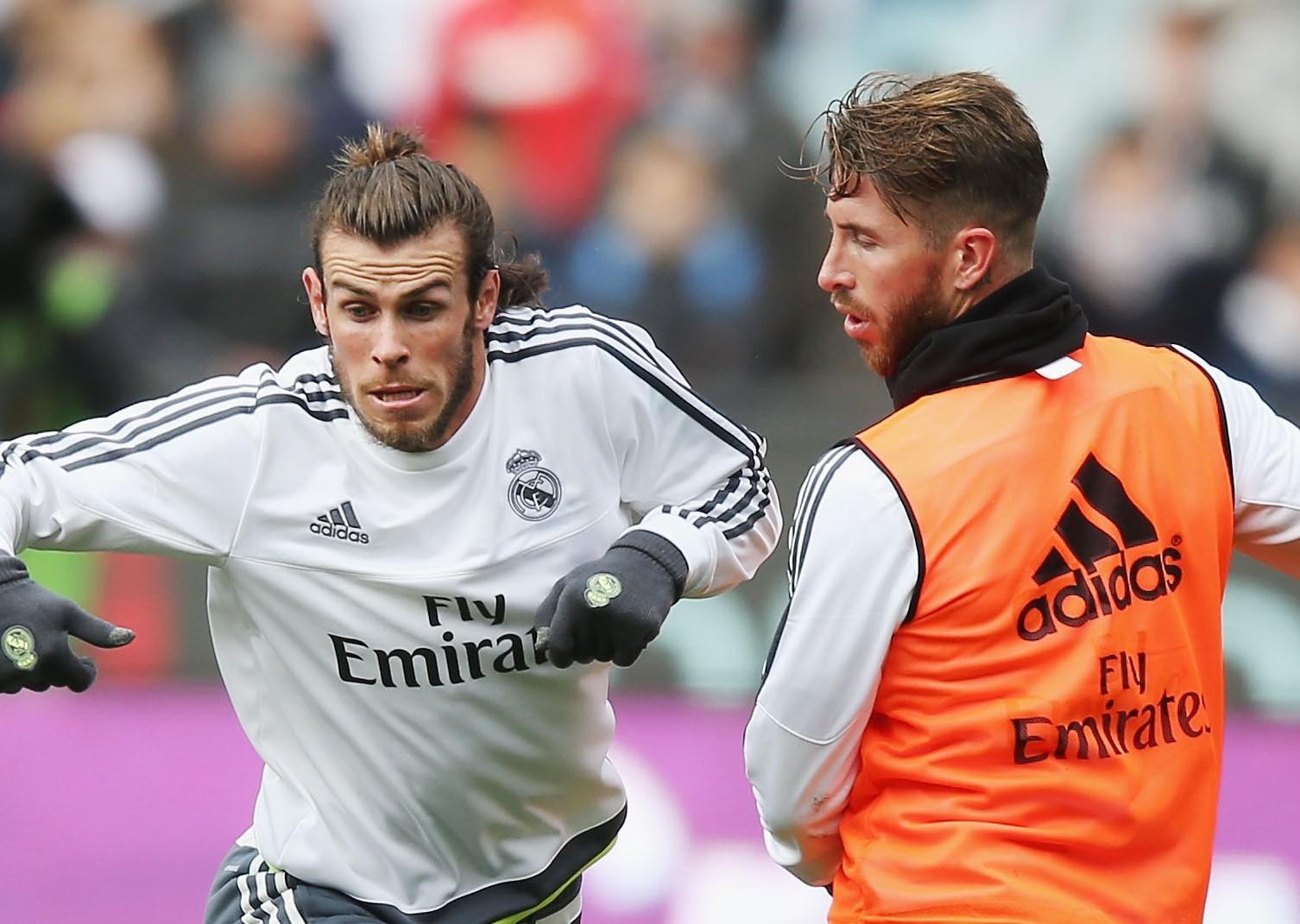 Gareth Bale, left, and Sergio Ramos.
