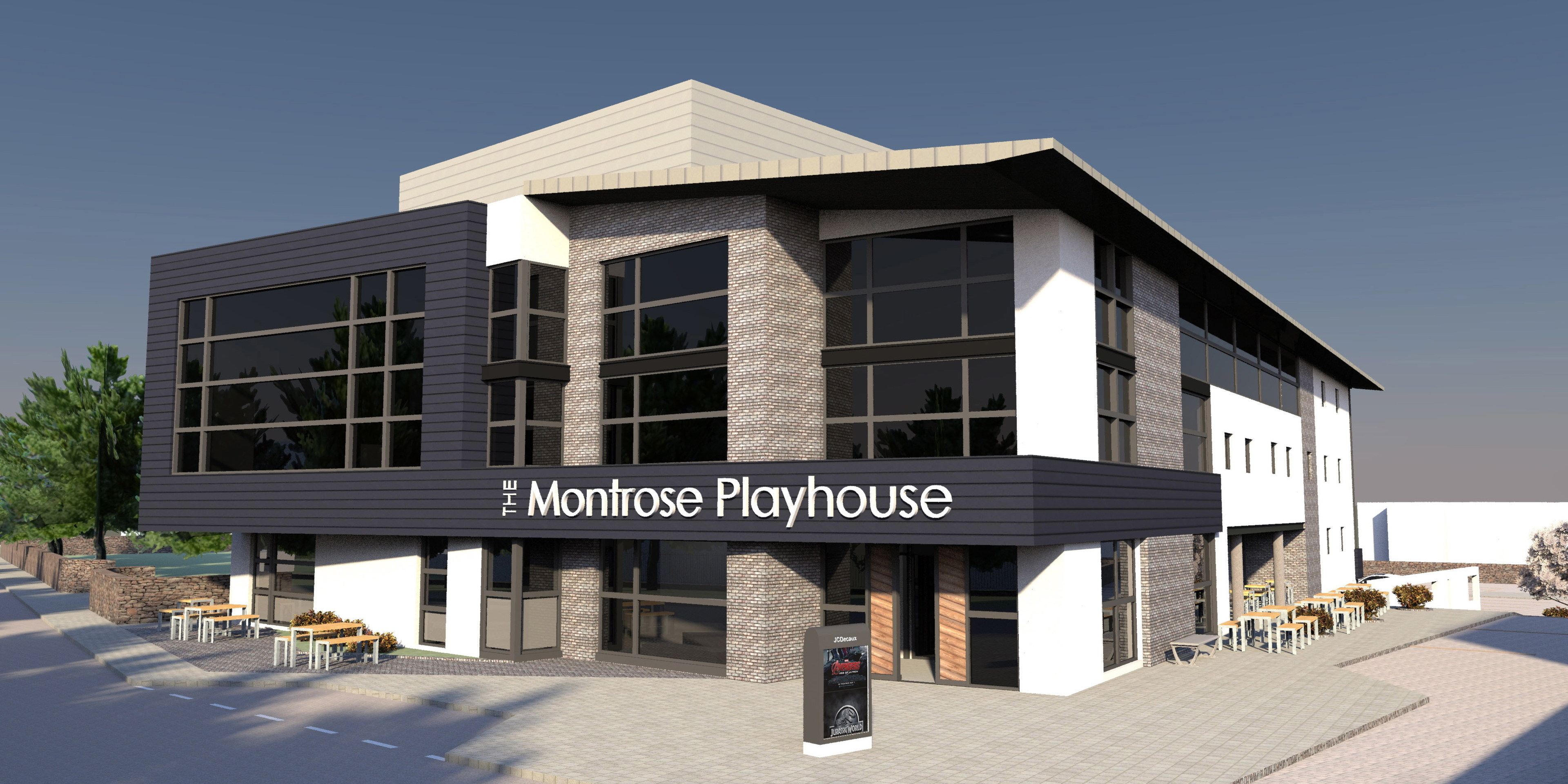 The latest artist's impressions of the Montrose Playhouse.