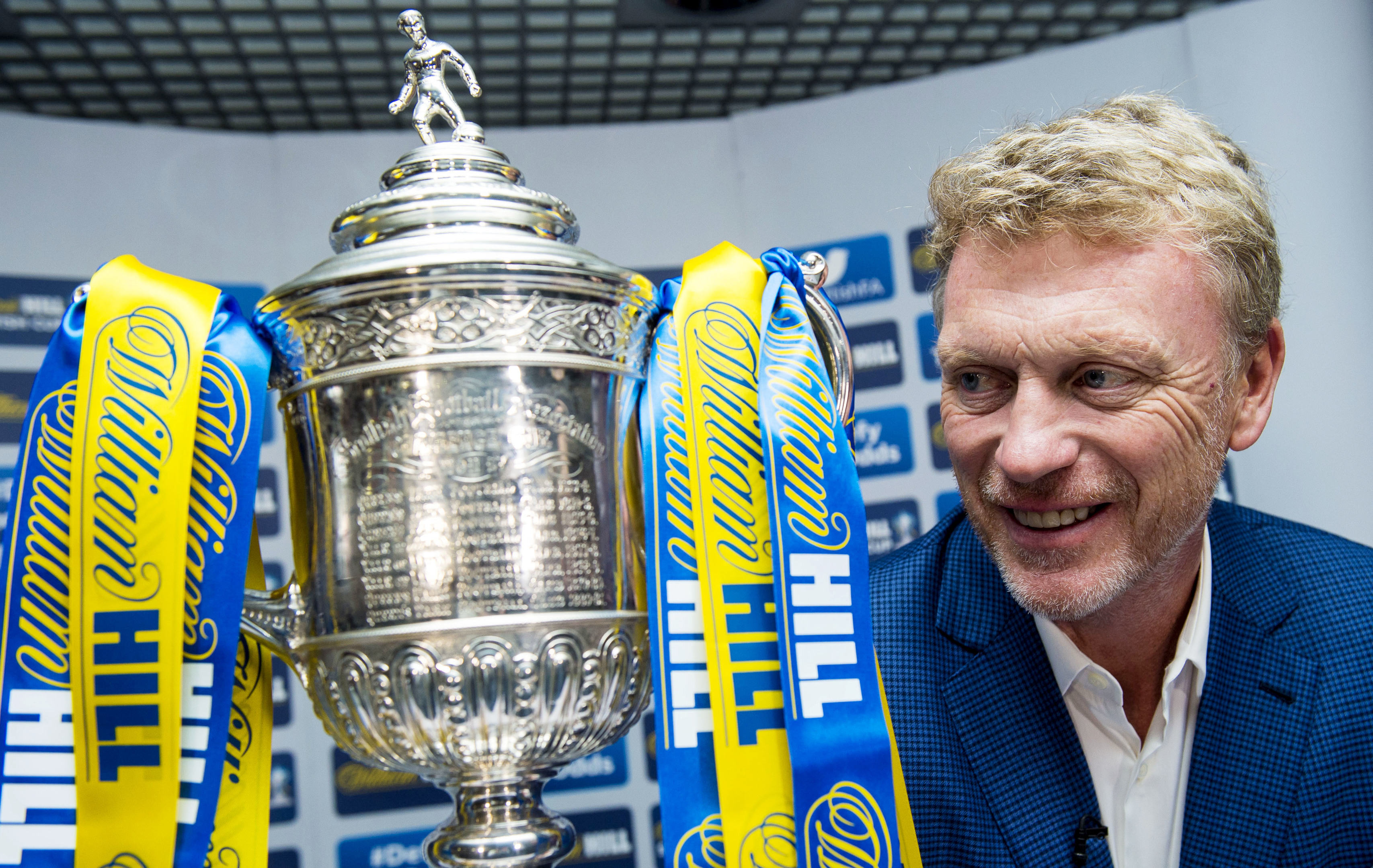 David Moyes was recently in Scotland to help out with the draw for the first two rounds of the Scottish Cup.