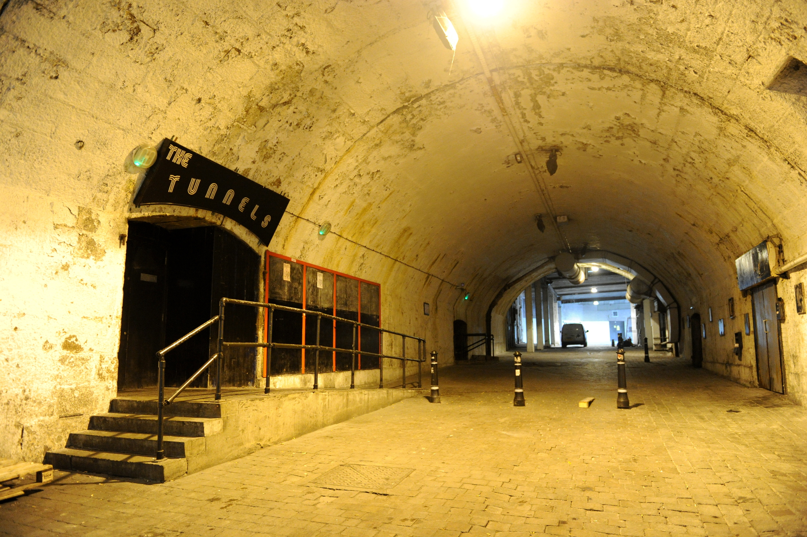 The Tunnels is one of the venues chosen for the 2nd Aberdeen Film festival.
