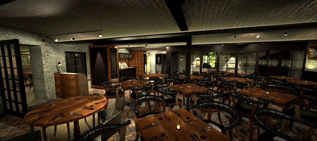 No.10 Bar & Restaurant- Interiors 2