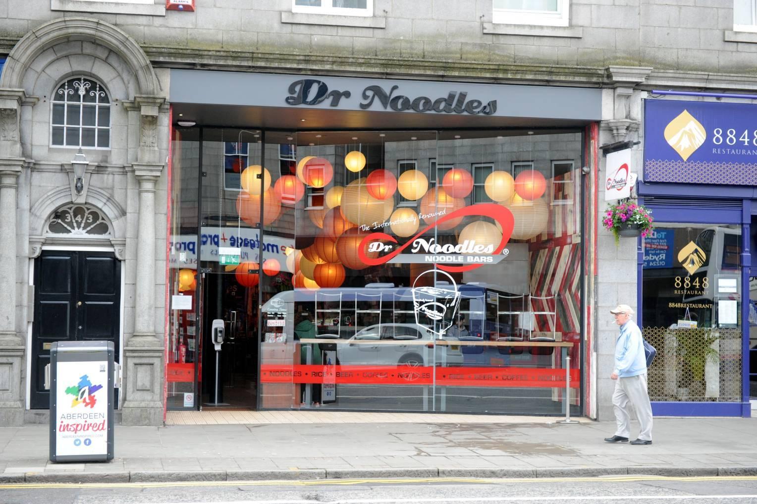 Dr Noodles on Union Street.