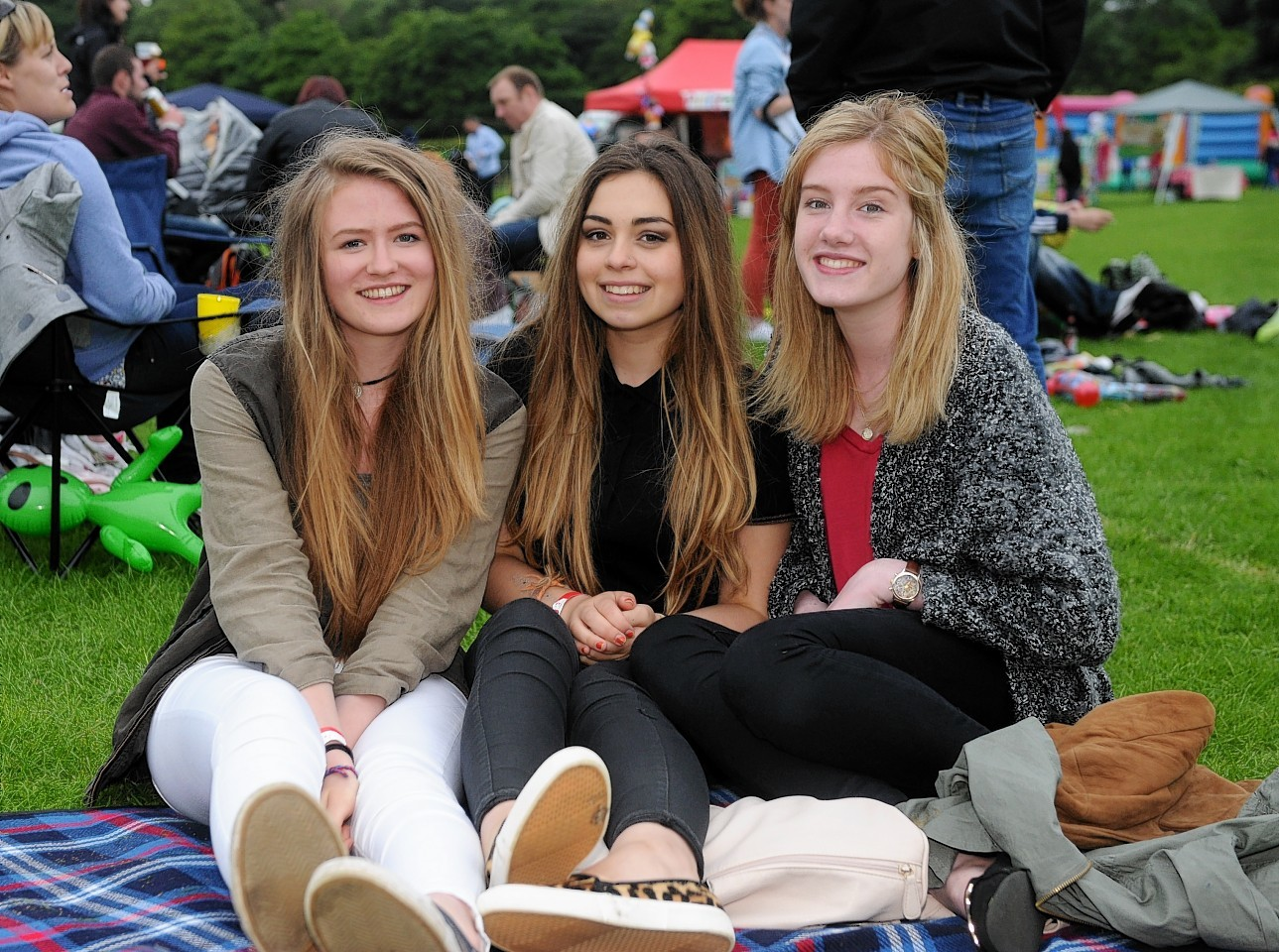 Sophie Georgin, Maia Giles and Lucy Hinchcliffe.