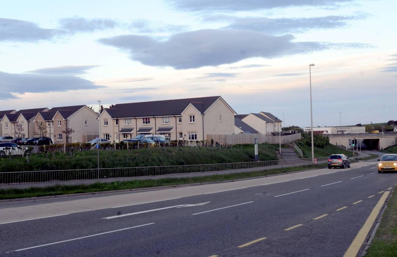 Hillside in Portlethen.