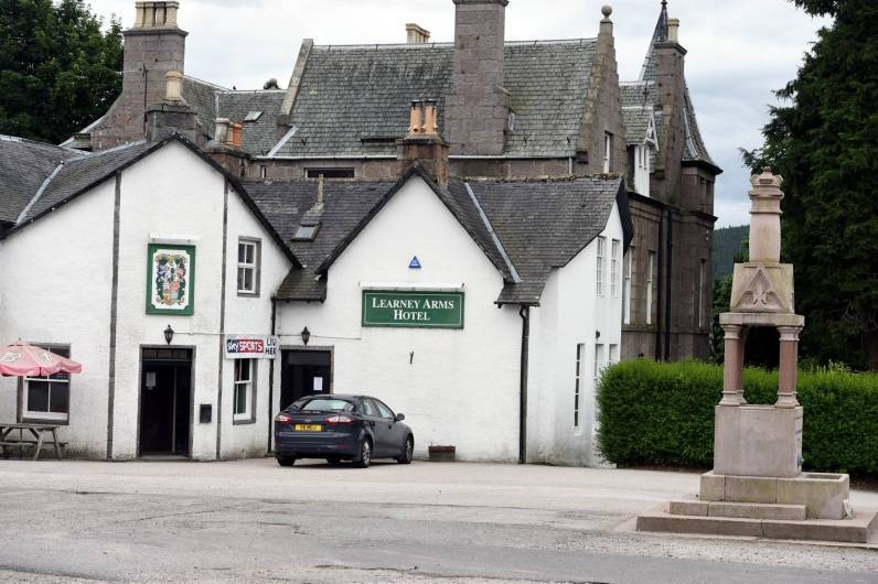 The Learney Arms Hotel in Torphins.