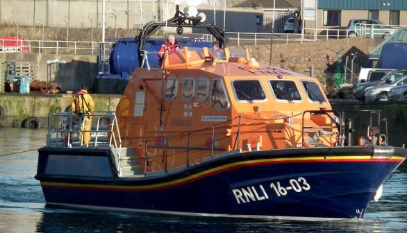 Lifeboats from Peterhead and Aberdeen were launched.