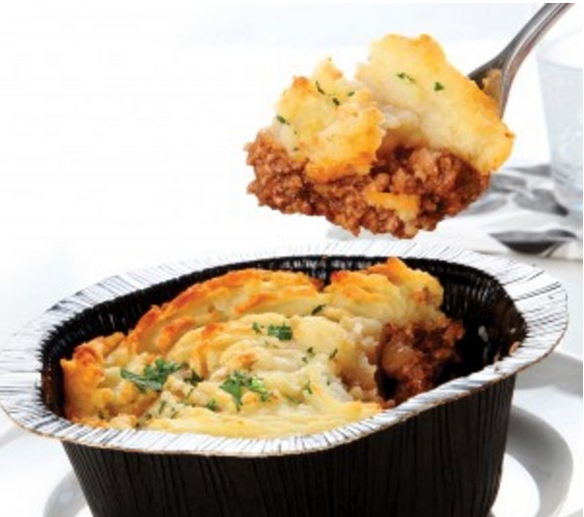 The prize-winning Donald Russell cottage pie