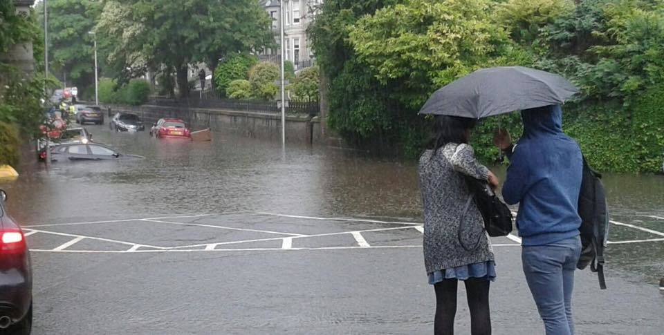 Polmuir Road in Aberdeen is one of the worst affected streets
