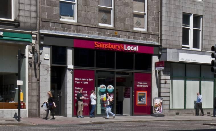 Sainsbury's Local on union Street