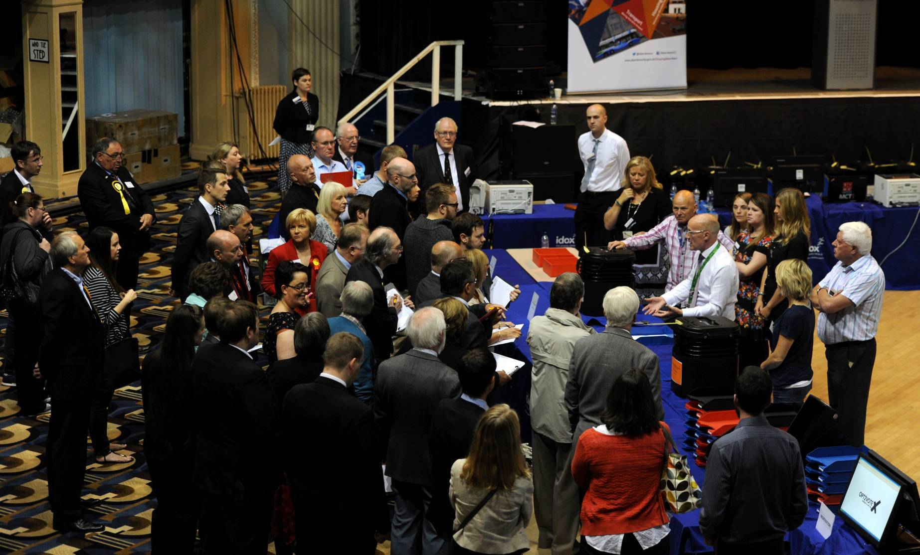The by-election was triggered after Kirsty Blackman and Callum McCaig became MPs.