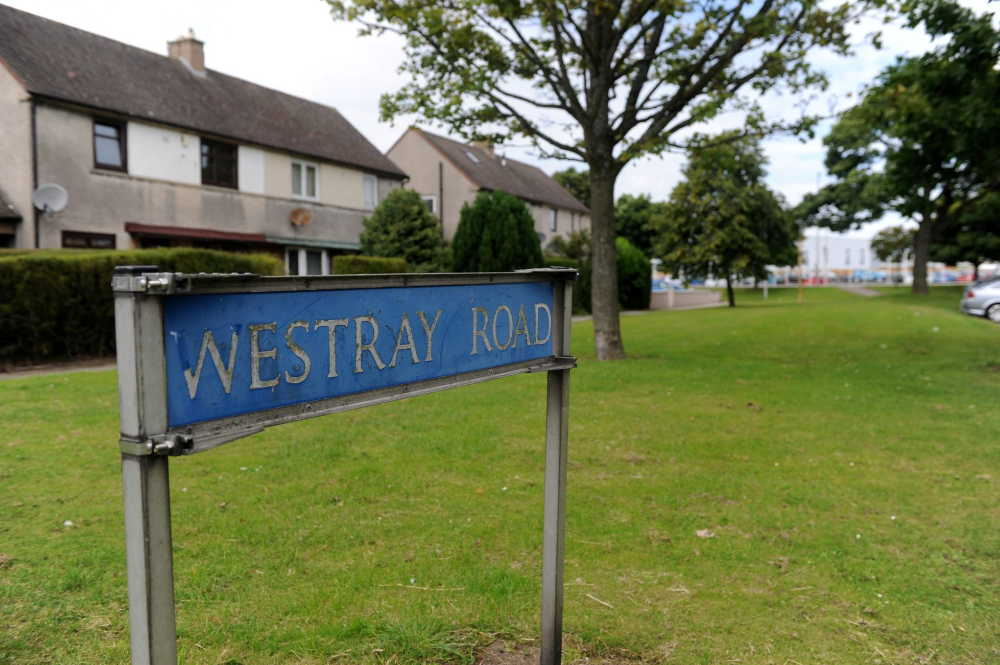 The alleged incident happened on Westray Road.