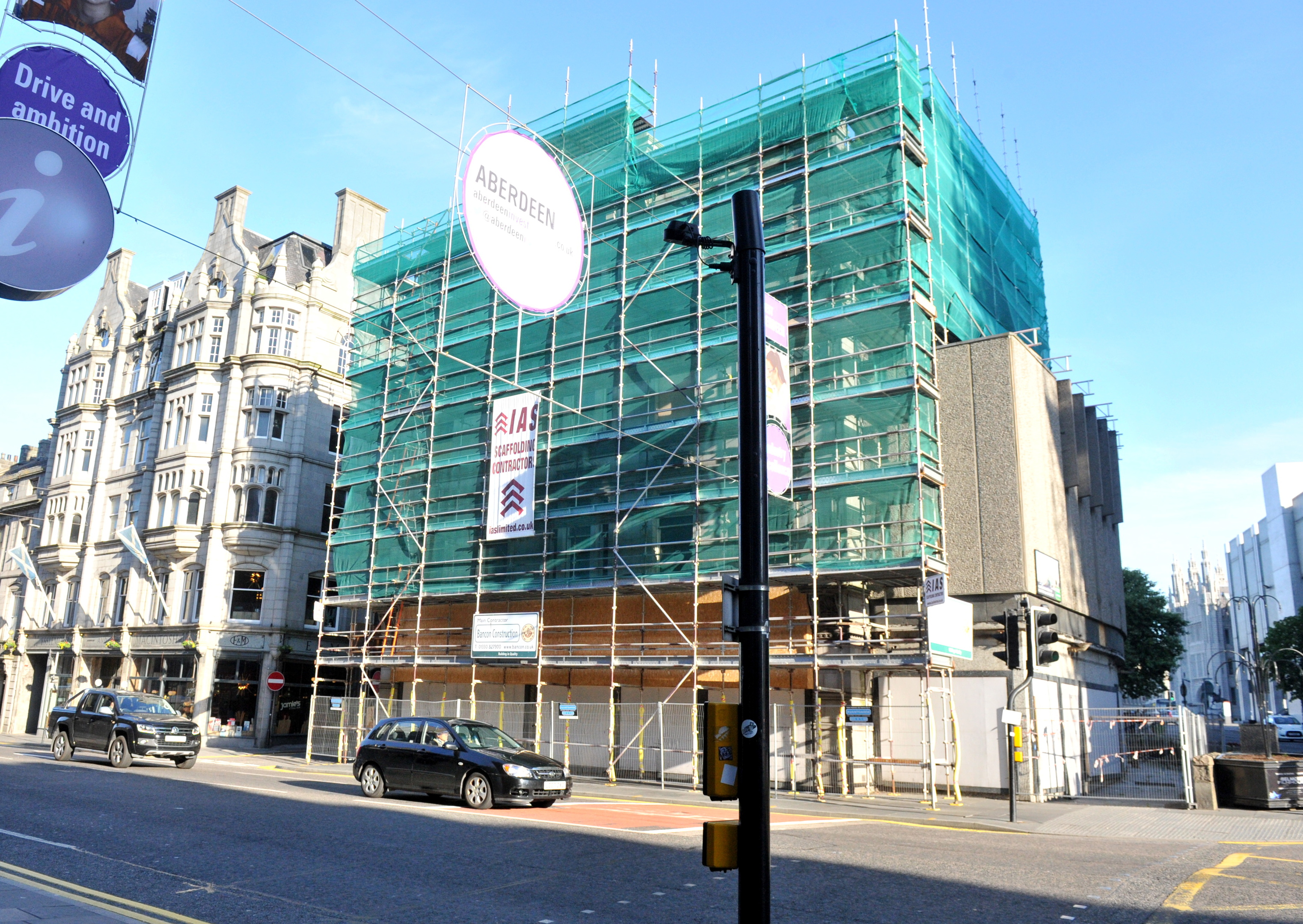 Two floors of the E&M building could be turned into a restaurant.