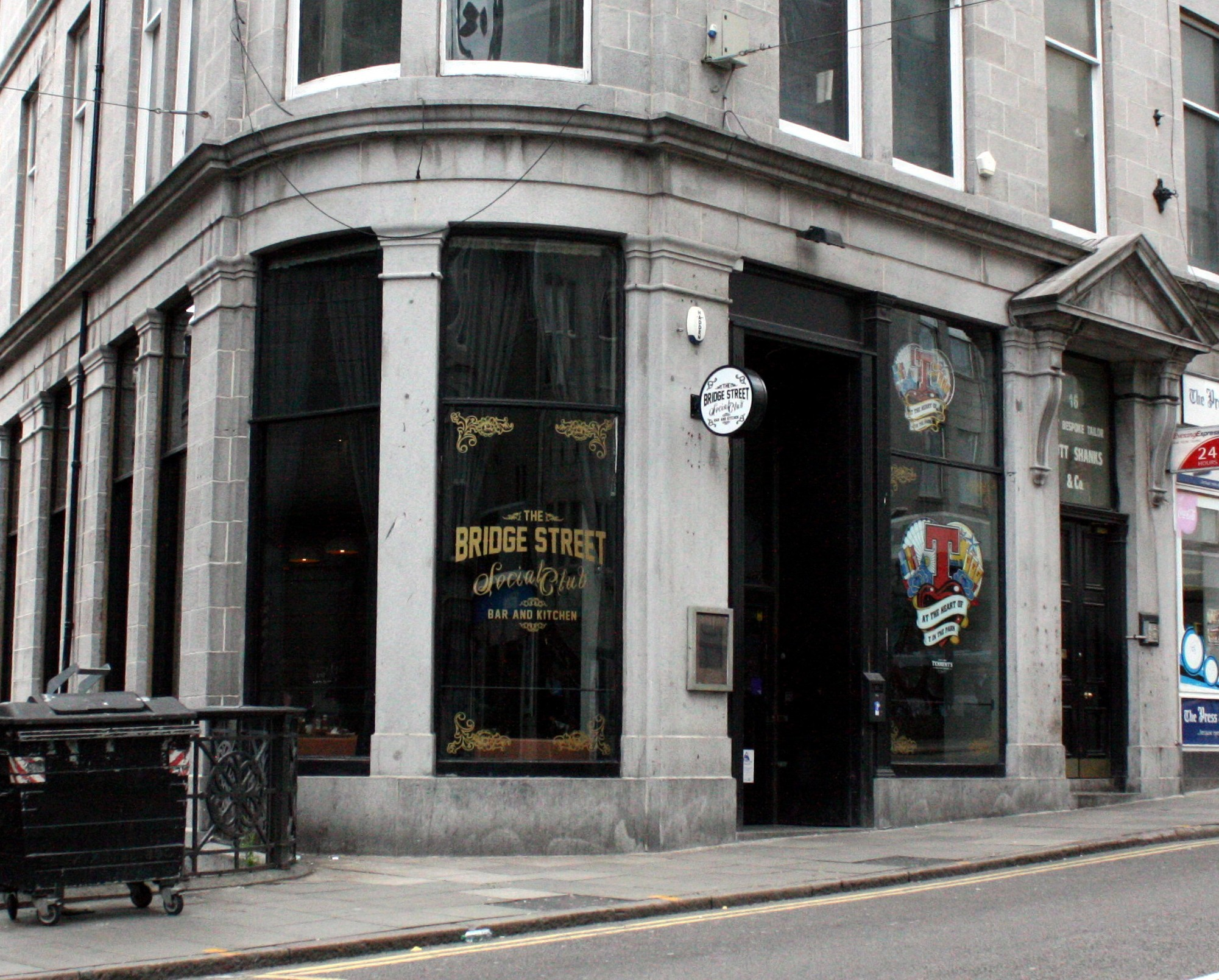 Bridge Street Social Club on Bridge Street is one of the venues the Save Our Scene crowdfunder was set up for