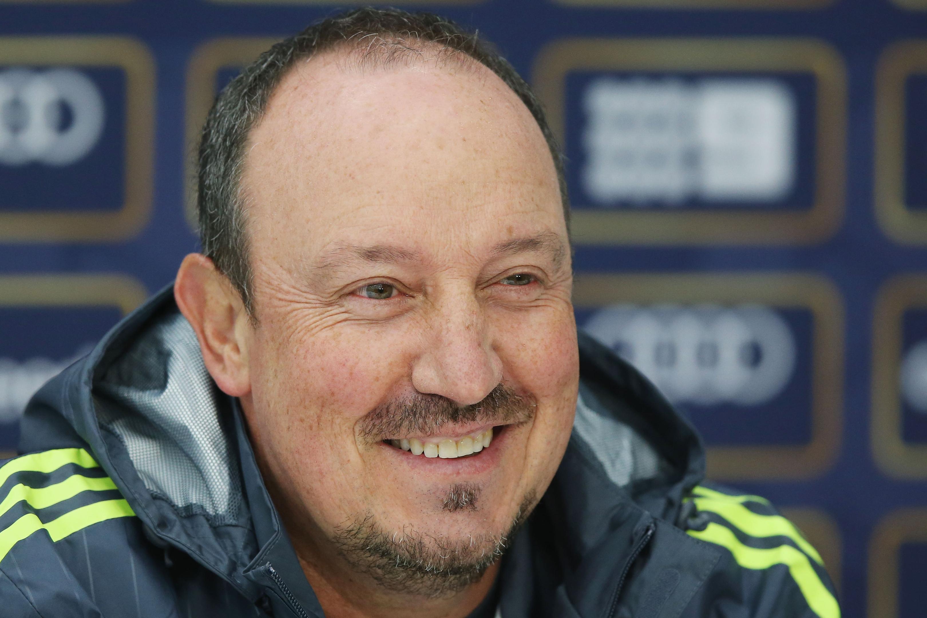Rafa Benitez only cares about winning.