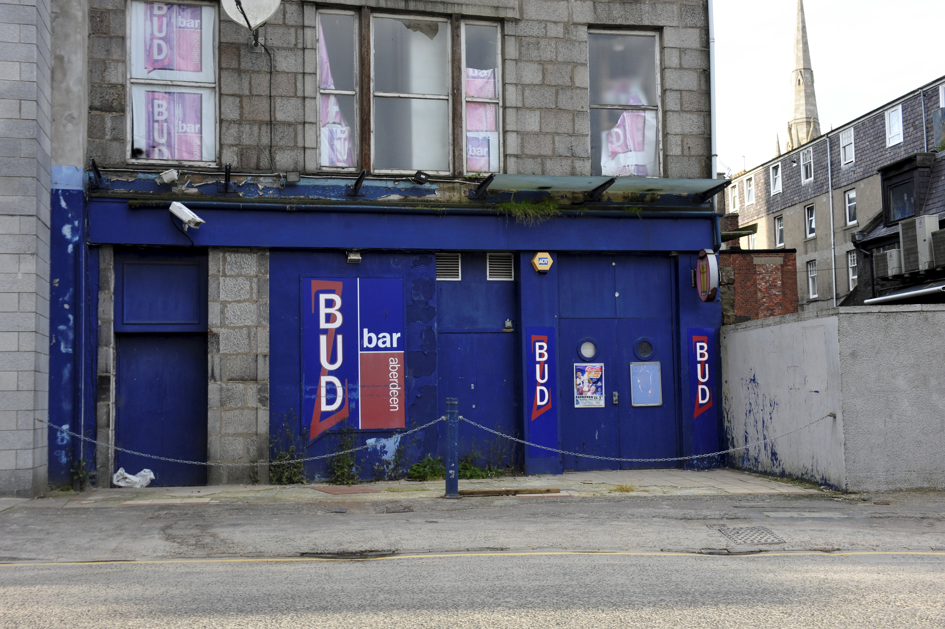 The Budz Bar site on Justice Mill Lane