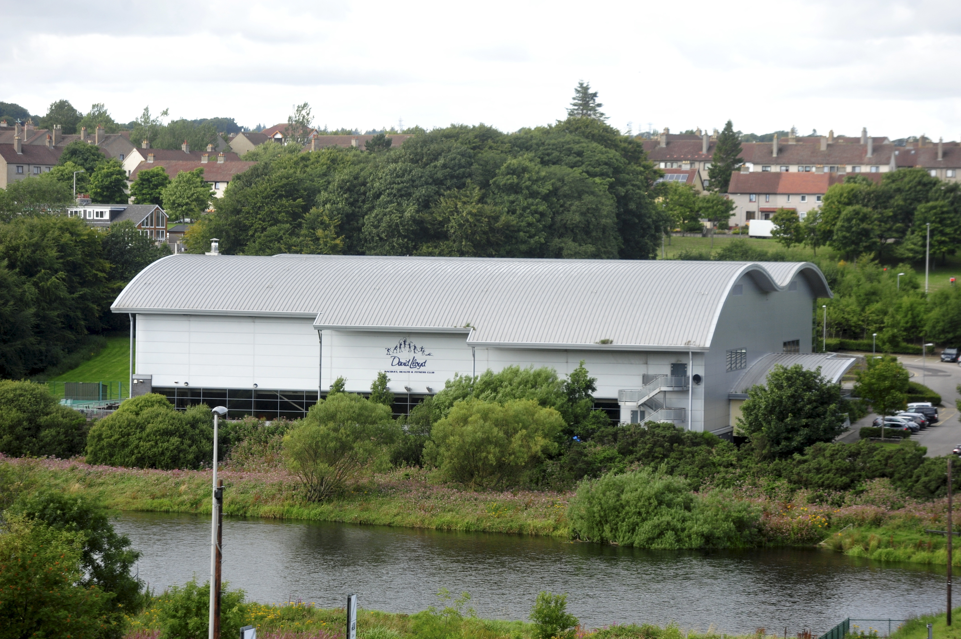 David Lloyd gym on Aberdeen's Garthdee Road is hoping to construct an open air swimming pool on the site.