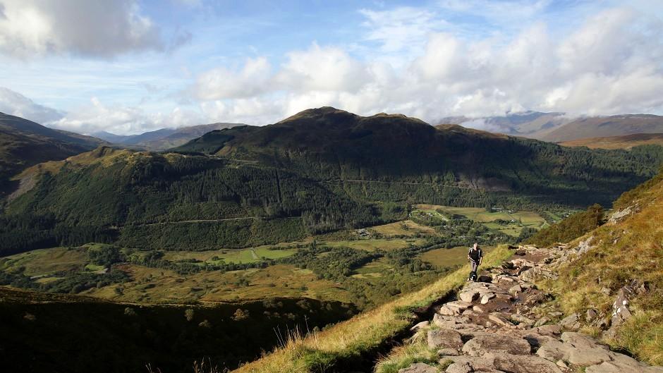 Ben Nevis is the UK's highest peak
