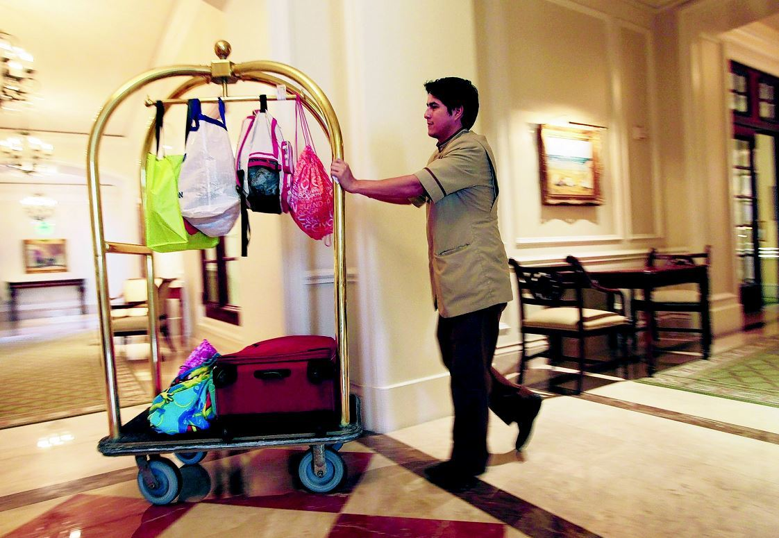 Hotel occupancy has dropped but tourism is on the rise.