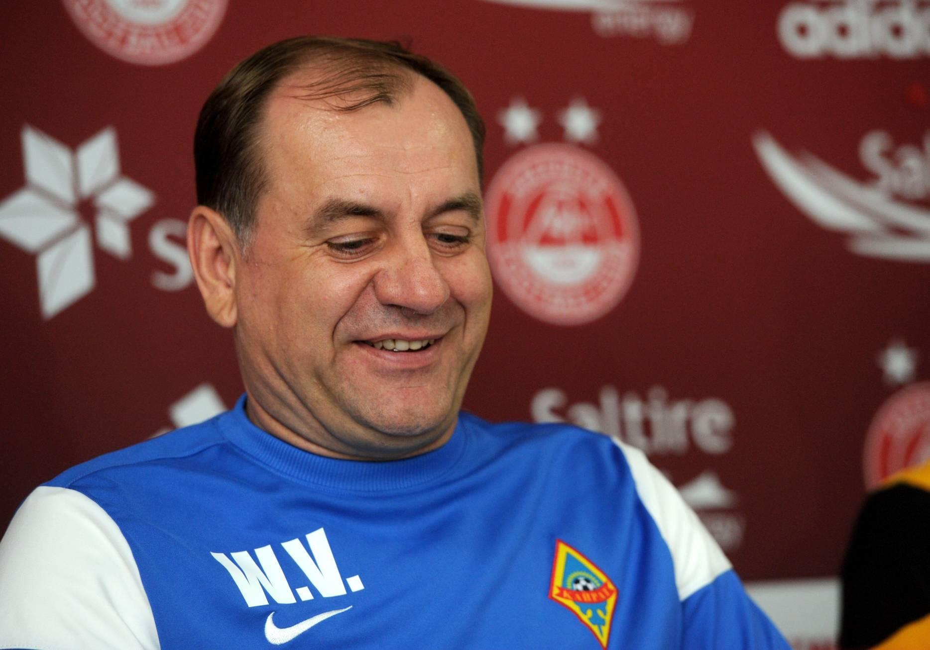 Kairat Almaty manager Vladimir Weiss
