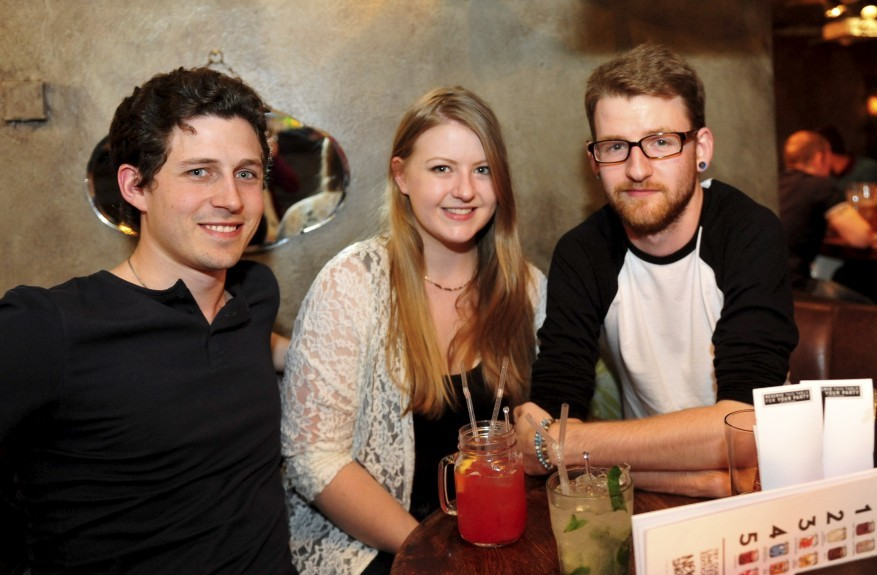Revolution: Andrew Graeme-Smith, Zoe Howell and Andrew Taylor.