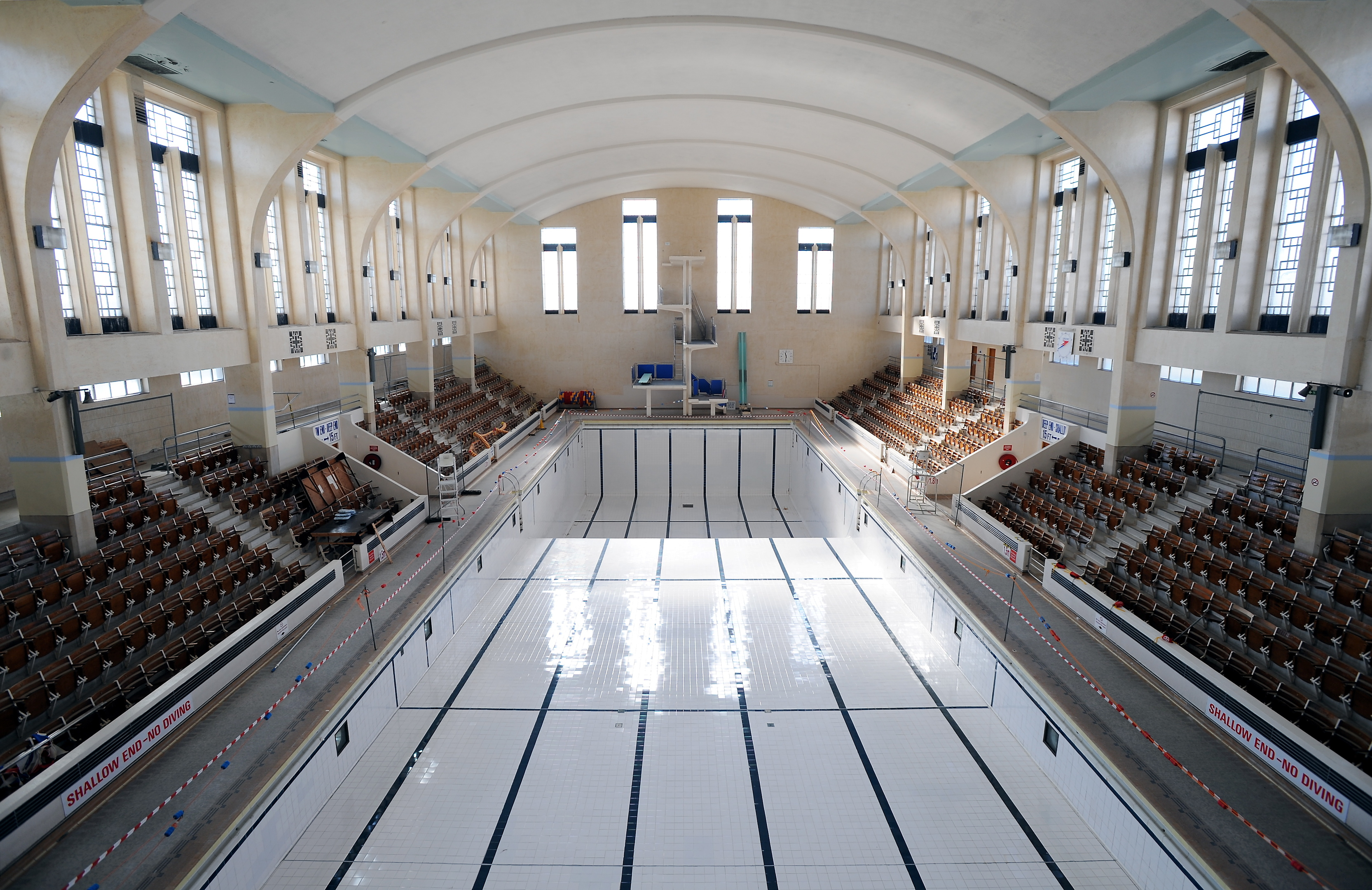 How the baths look when it closed in 2008