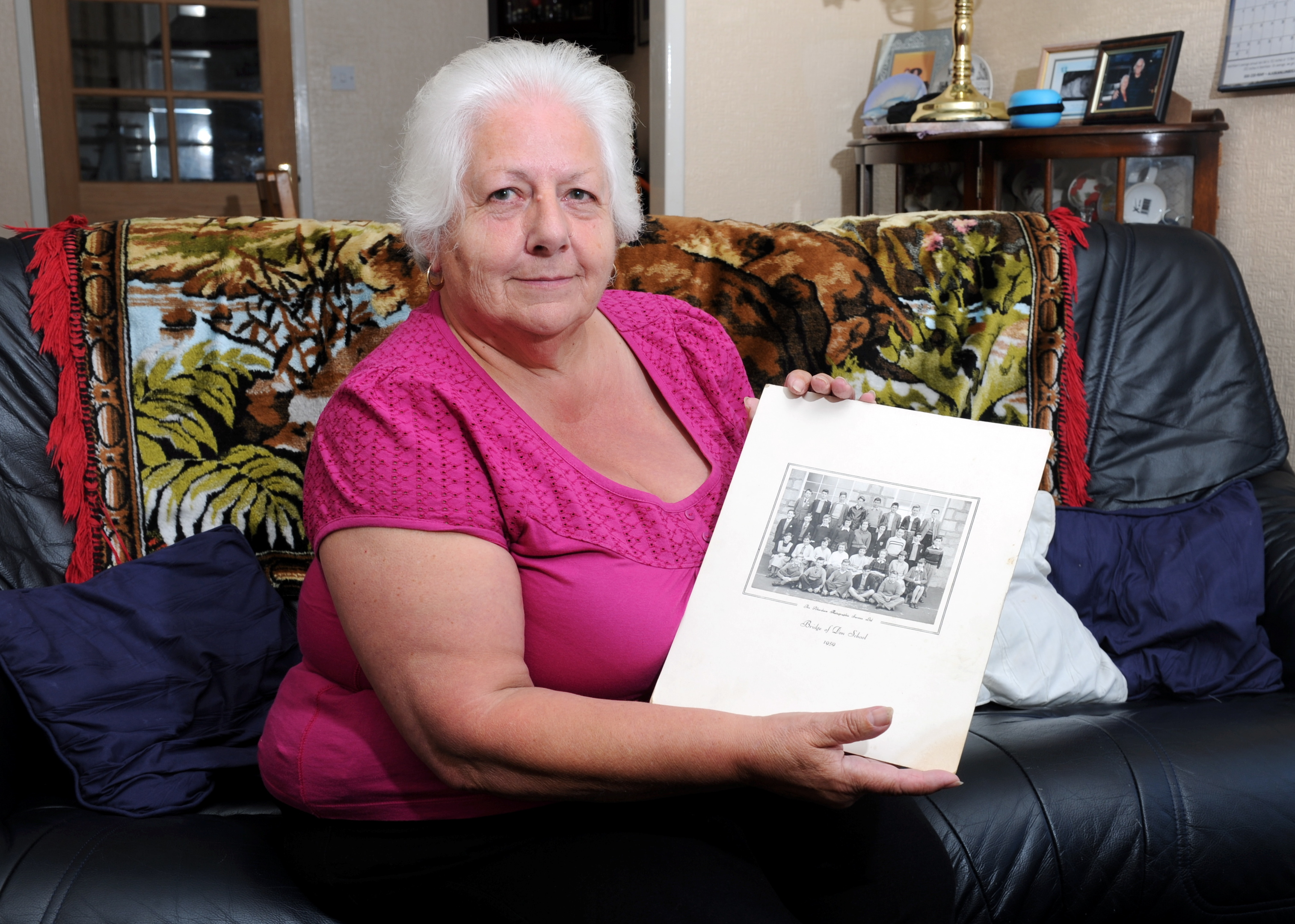 Sandra Paterson is trying to organise a school reunion for her class at Bridge of Don Academy,